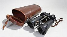 A pair of Barr and Stroud Naval Binoculars,dated 1934 and marked with the b