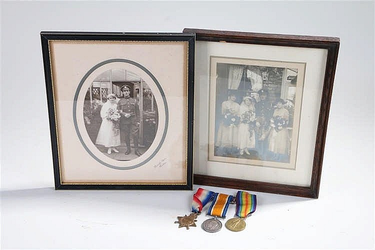 First World War trio, to include 1914-15 Star, War and Victory medal, (1466