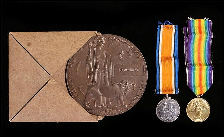First World War casualty group, to include Victory and War medals (20218 PT