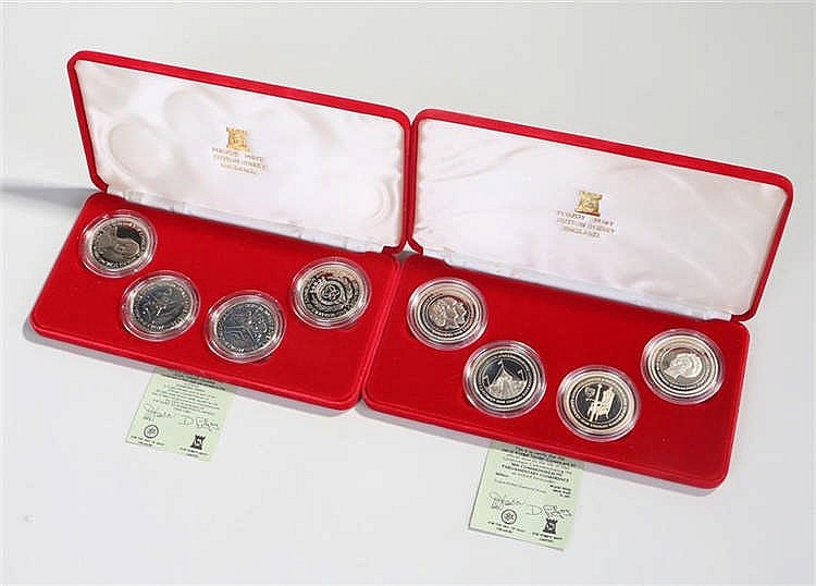 Coins sets, Pobjoy Mint 30th Commonwealth Parliamentary Conference and The