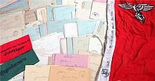 Collection of German World War Two field post letters relating to one soldi