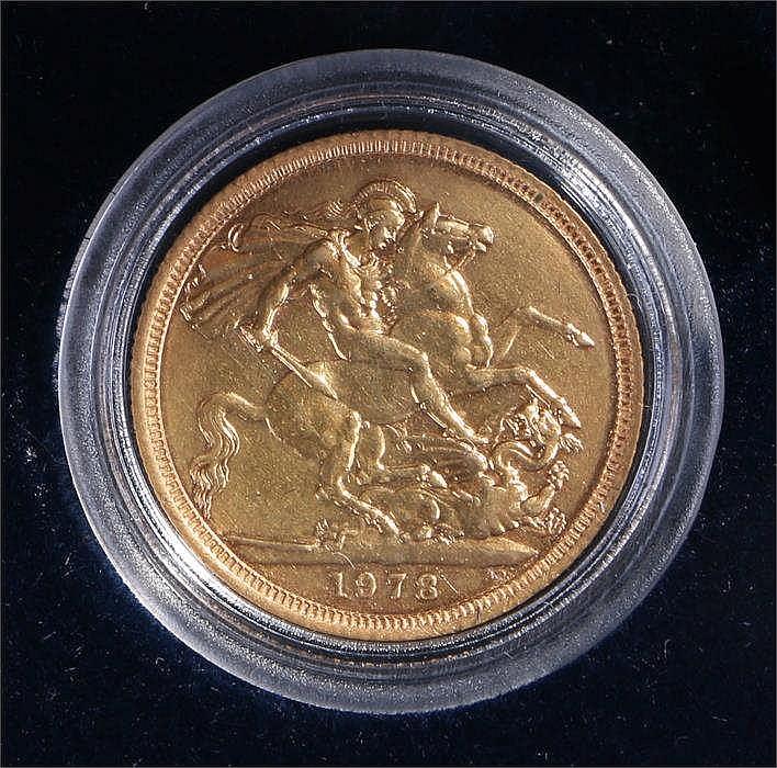 Elizabeth II Sovereign - Stock Ref:2317-9