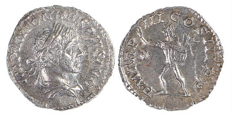 Elagabalus Roman Denarius, 220, RIC 28 - Stock Ref:3446-24