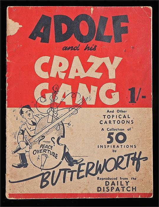 Adolf and his Crazy Gang and other topical cartoons a collection of 50 insp