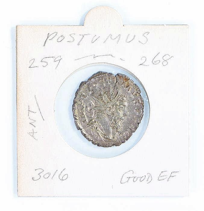 Postumus Roman Denarius, 259-268 - Stock Ref:4375-3
