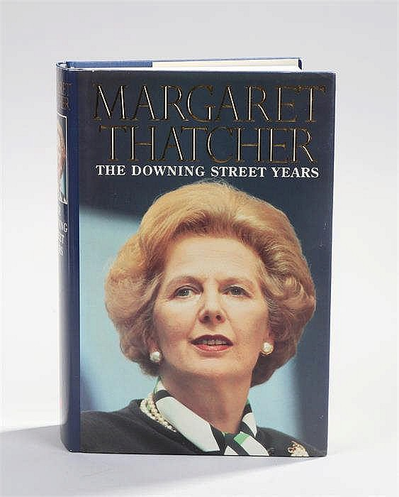 Margaret Thatcher, The Downing Street Years, Signed first edition - Stock R