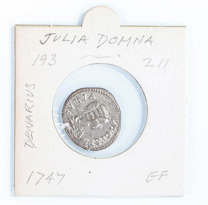 Julia Domna Roman Denarius, 193-211 - Stock Ref:4375-10