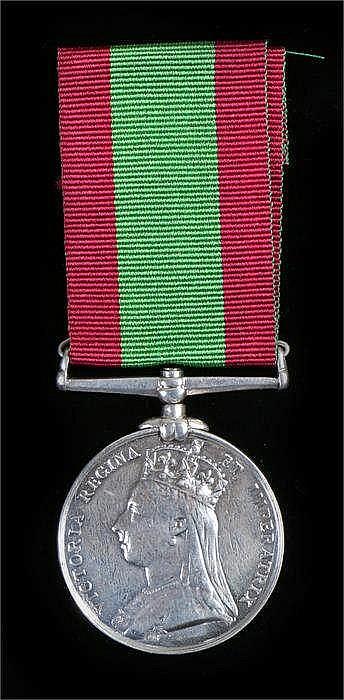 Victorian Afghanistan medal (engraving erased) - Stock Ref:525-138