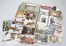 Album of 20th century postcards and greetings cards - Stock Ref:4659-2