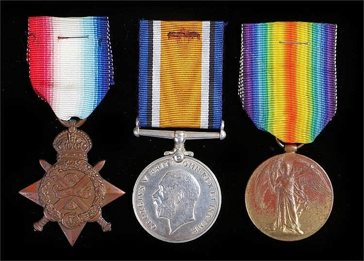 World War One casualty trio to 10265 CPL Oliver Raymond Bisco Border Regime