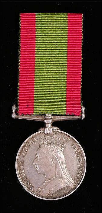 Victorian Afghanistan medal to 32B/238 PTE W Webb 1/12th reg - Stock Ref:5