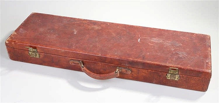 Shotgun case, with a cleaning rods inside - Stock Ref:2315-89