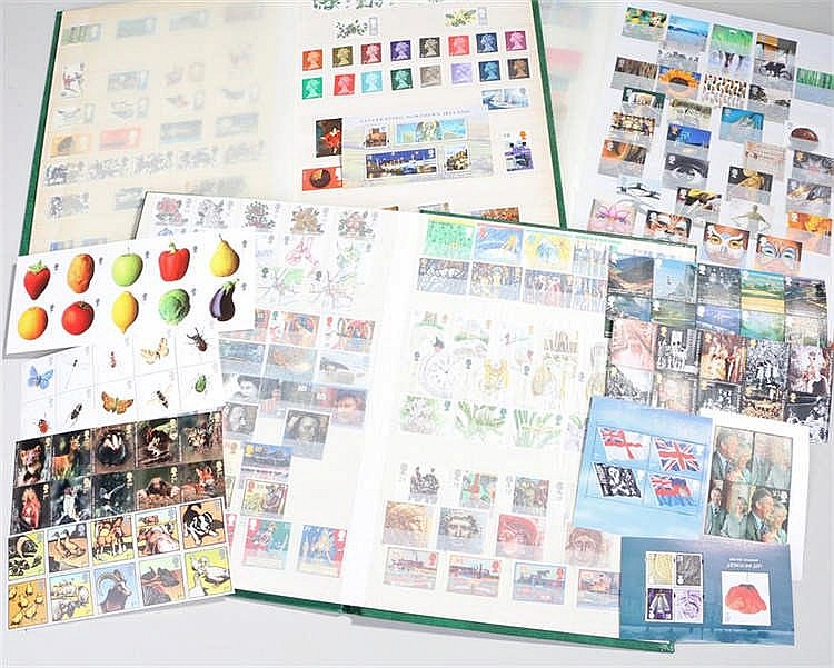 Three albums of Great Britain stamps 1952-2008 (3) - Stock Ref:5215-8