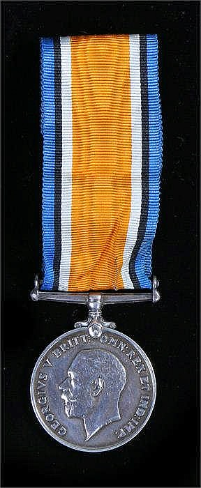 First World War medal, War medal (29042 PTE J G GRAY K.O.S.B.) - Stock Ref: