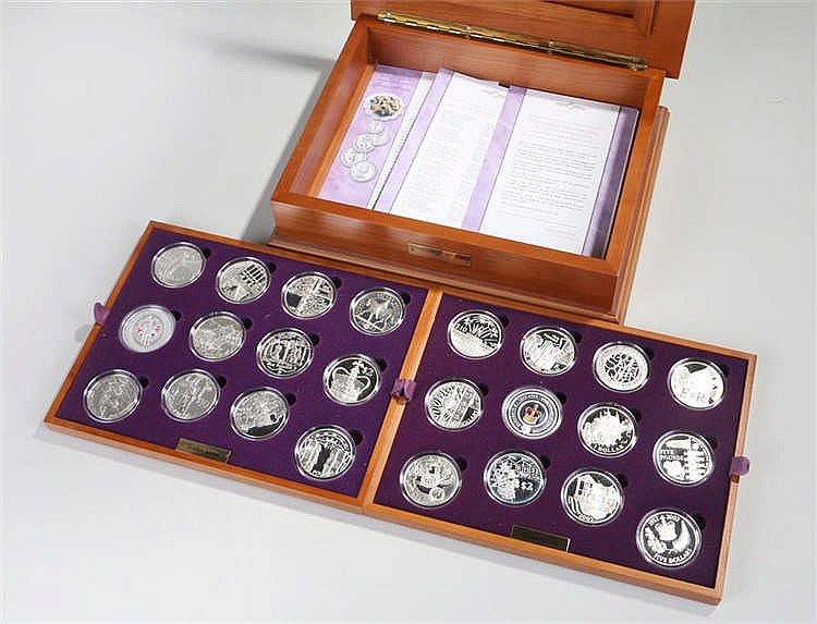 Royal Mint Issue of Queen Elizabeth II Golden Jubilee Limited Edition Colle