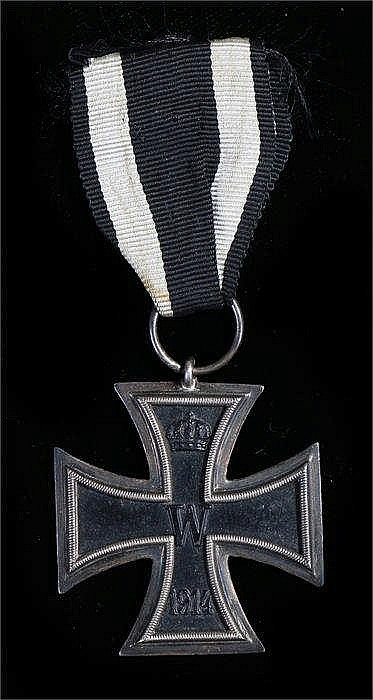 1914 Iron Cross second class, no maker mark on ribbon suspension ring - Sto