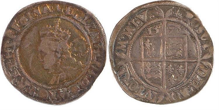 Elizabeth I Sixpence, 1570 - Stock Ref:3145-20