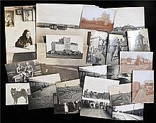 Collection of twenty three early 20th century black and white photographs d