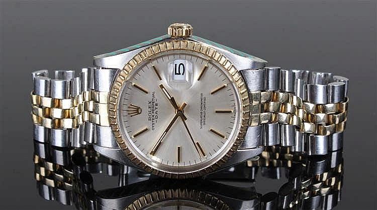 Rolex Oyster Perpetual Superlative Chronometer gentleman's bi-metal wristwa