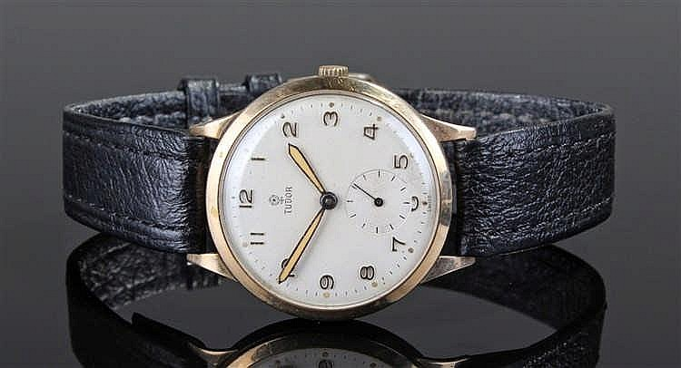 Tudor 9 carat gold gentleman 39 s wristwatch the signed champa for Tudor signatures