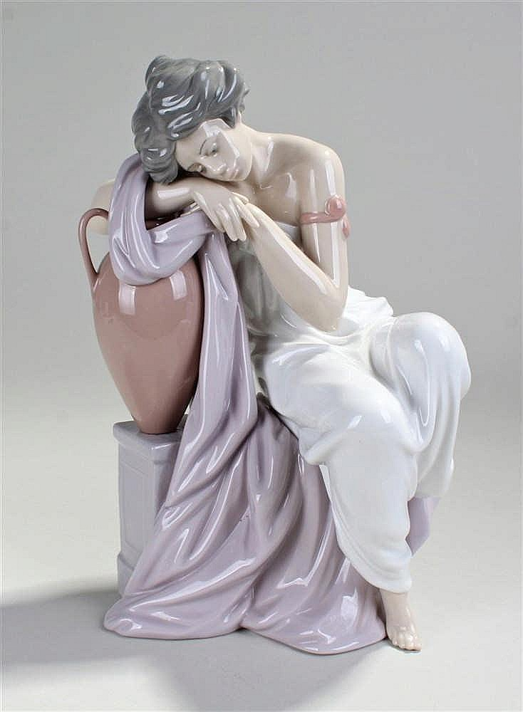 Lladro figure 'Lost in Dreams', model number 6313, 26cm in height