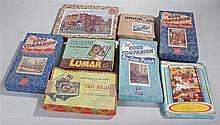 Jigsaw puzzles, to include The Good Companion, Just William, Lumar, Through