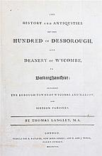 Thomas Langley, History and Antiquities of the Hundred of Desborough and De