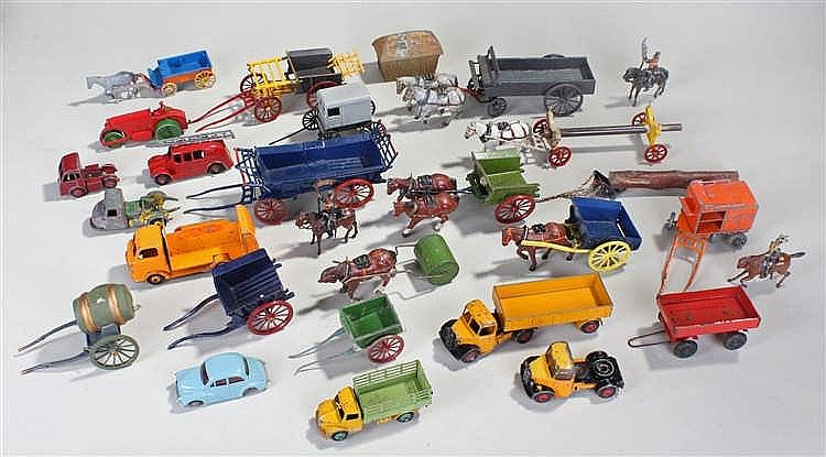 Large collection of farm toys, to include mainly Britains, consisting of ho
