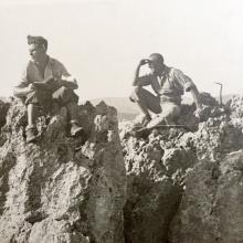 Vintage Mountain Climbing / Skiing Photo Album