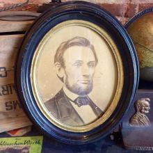 Abe Lincoln Portrait by J.C. Spooner; 1865