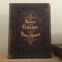 1862 National Portrait Gallery of Eminent Americans, Two-Volume Set Bound in Full Leather