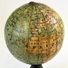 Vintage 1925 Petite French Terrestrial Globe