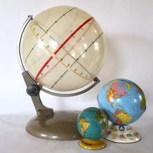 Vintage Solar Demonstration Globe from Germany