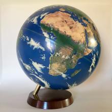 Rare World Globe - Satellite View of the World