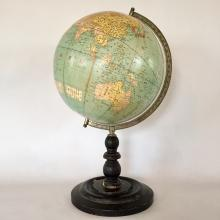 Exceptionally Rare Japanese Terrestrial Globe; Dated 1912