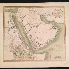 1804 Cary Map of Arabia Egypt & Abyssinia