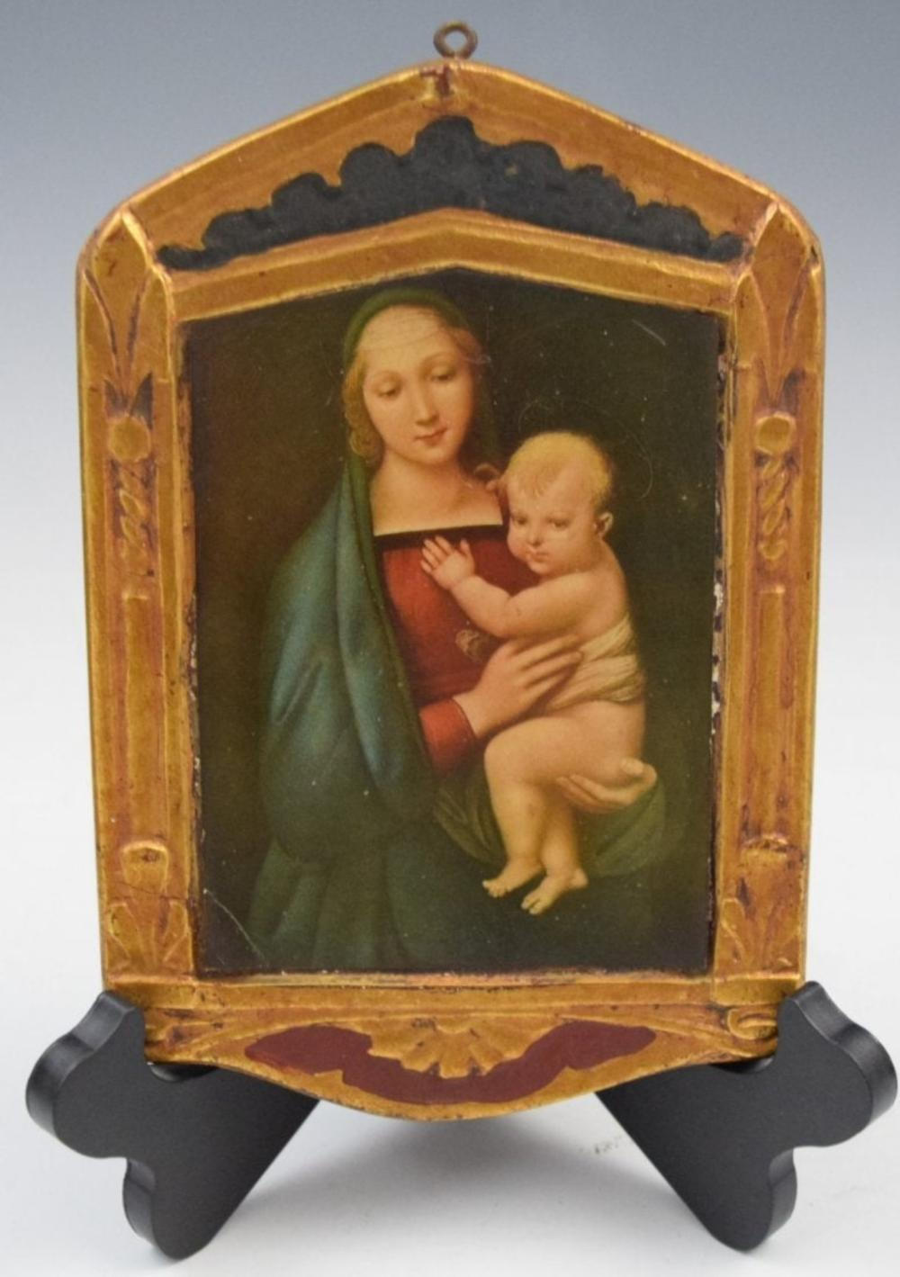 Madonna & Child, O/B (Property of Museum)