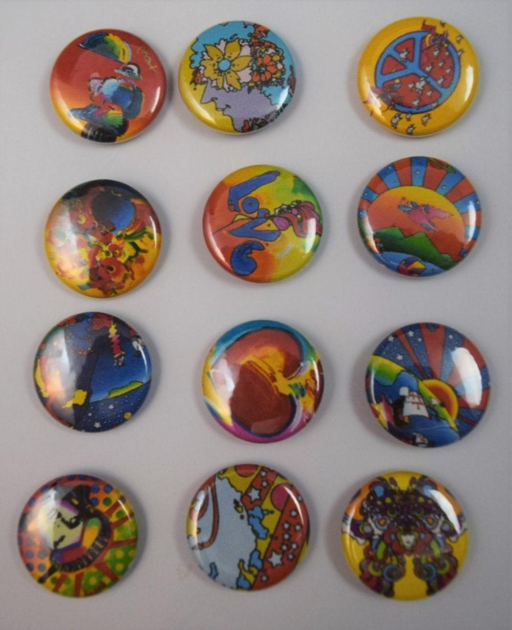 Peter Max (Vintage Buttons)