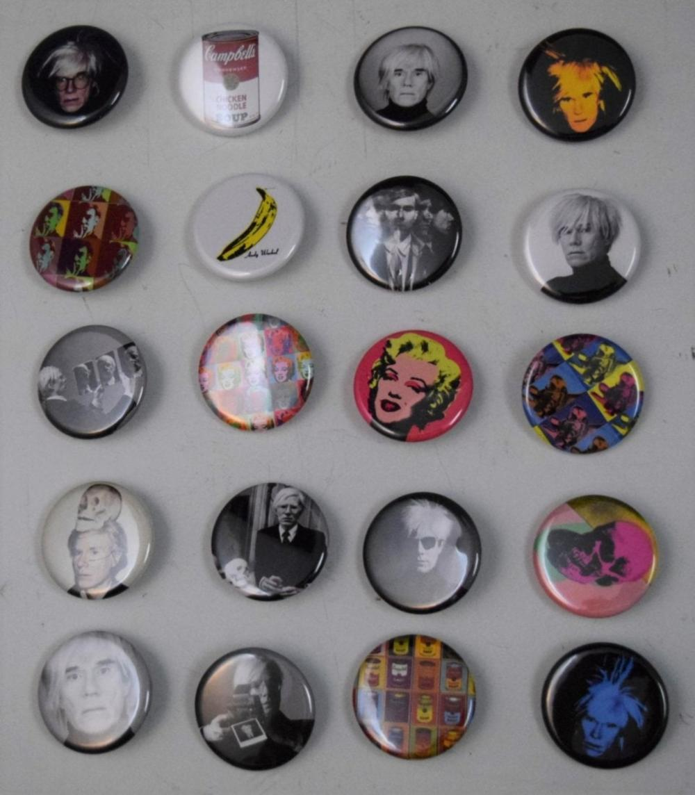 Andy Warhol, Vintage (Buttons)