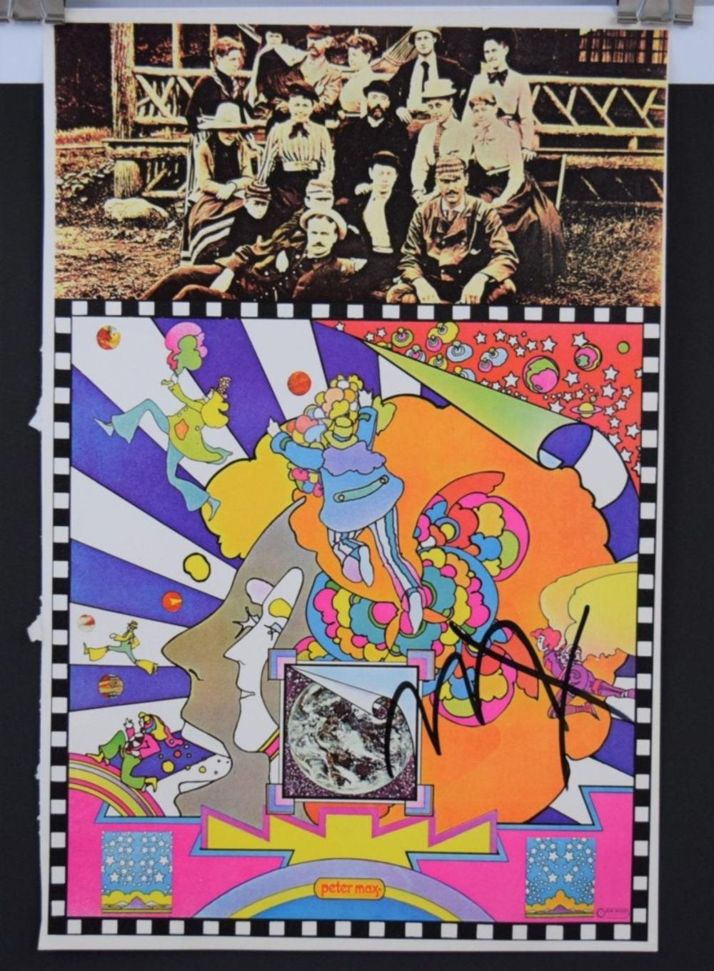Peter Max, Signed (Poster)