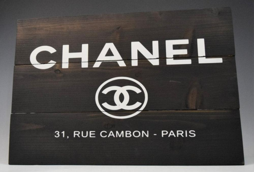 Chanel Store Sign (Advertisement)