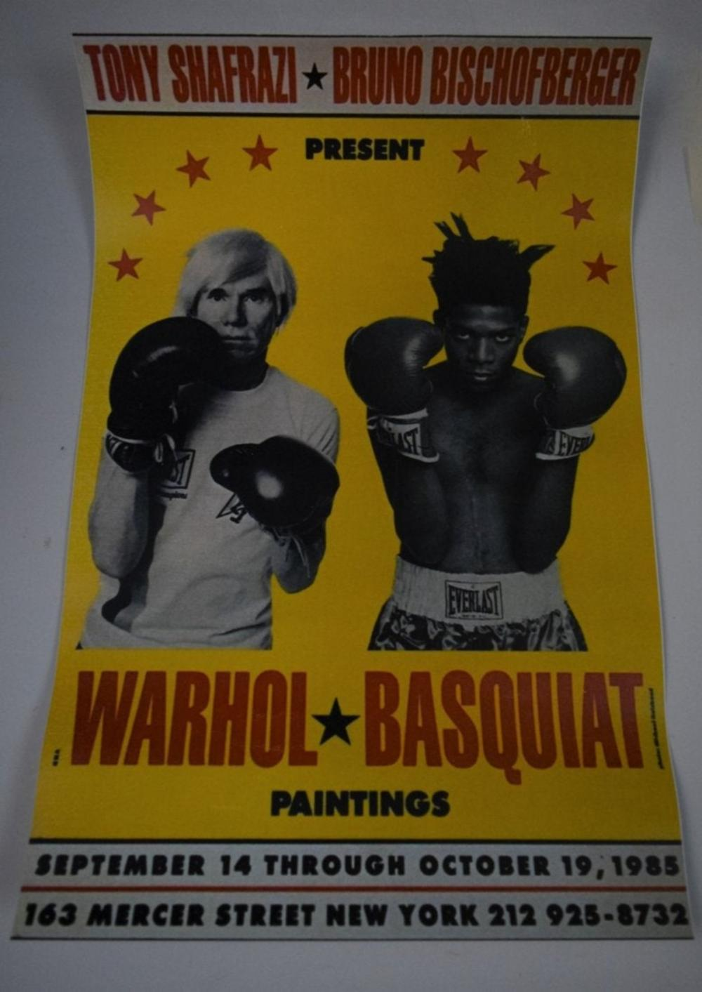 Andy Warhol, Jean Michel Basquiat (Later Printing)