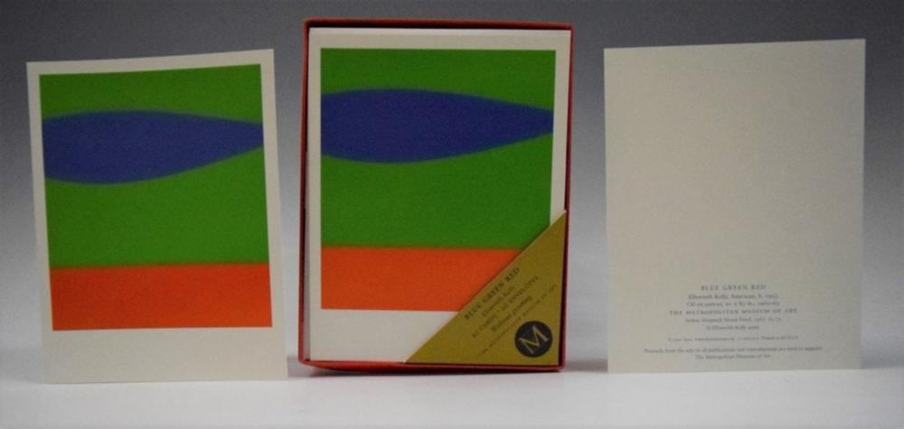 Ellsworth Kelly, Lithograph (Cards)