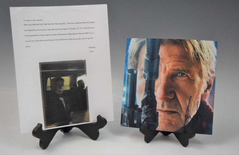 Harrison Ford, Signed (Photograph)