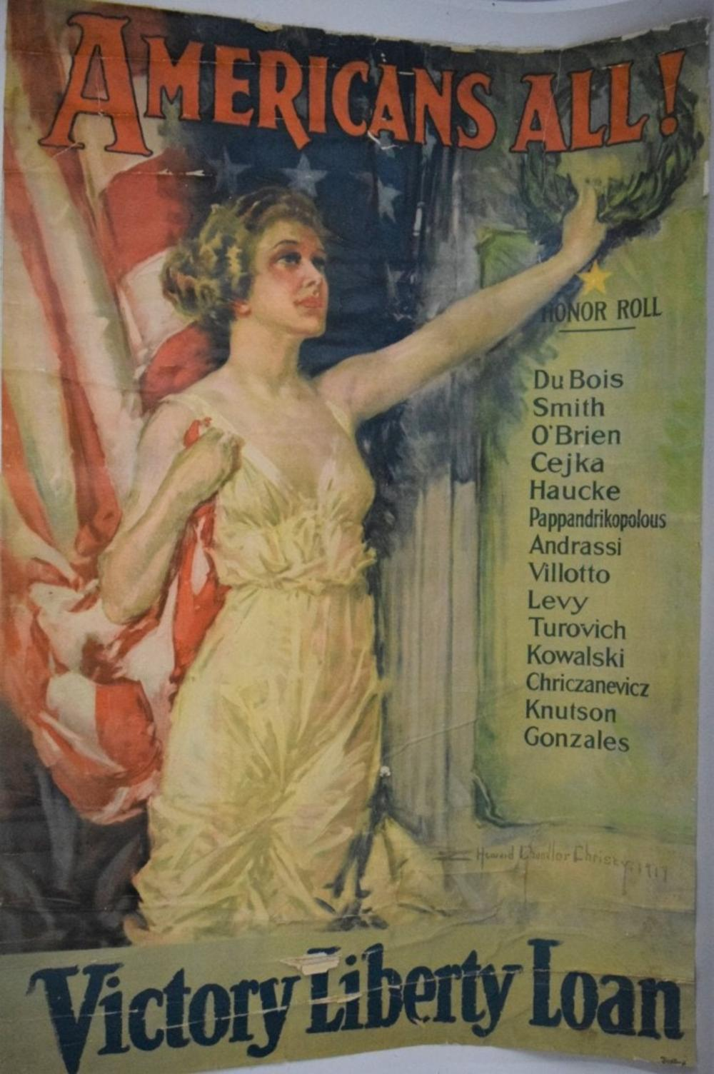 Victory Liberty Loan Poster (Howard Christy Chandler)