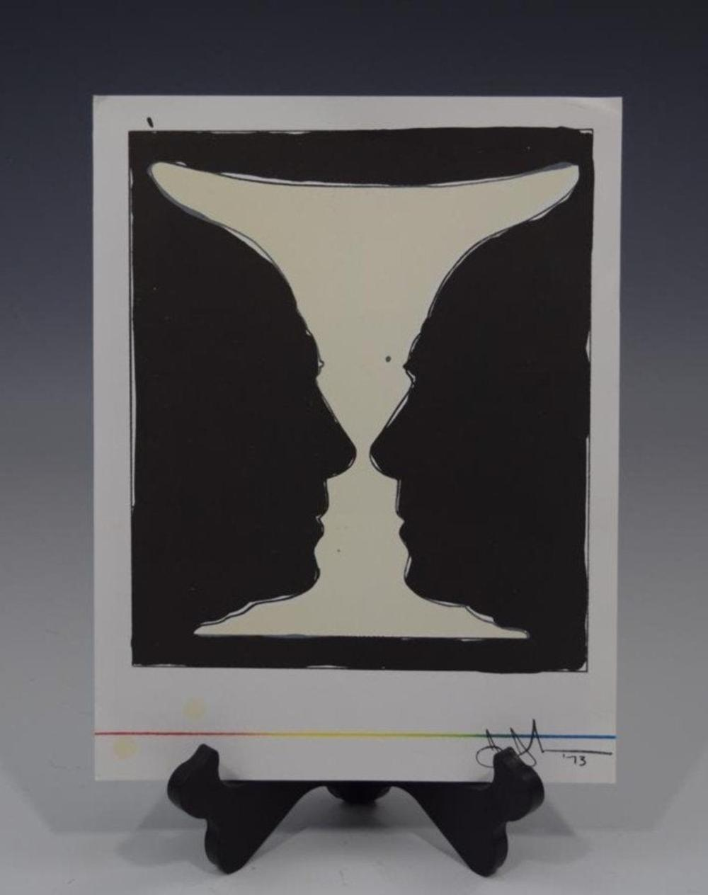 Jasper Johns, Cup Two Picasso (Lithograph)