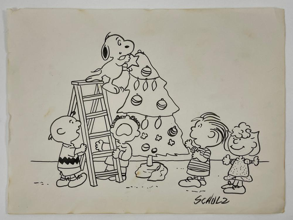 Charles Schulz, Drawing (Snoopy)