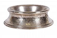 GORHAM STERLING SILVER DOG BOWL