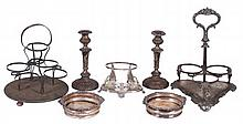 LARGE COLLECTION OF SILVER PLATED TABLE ARTICLES