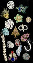 Tray Lot of Fine Vintage COSTUME JEWELRY